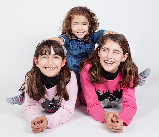 FOTOS DE FAMILIA Y REPORTAJE FAMILIAR: Mararía + Mencía + Lucía