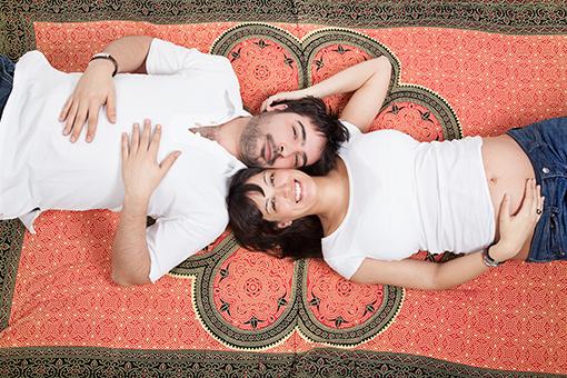 FOTOS DE EMBARAZO Y SESIONES INFANTILES : HUGO