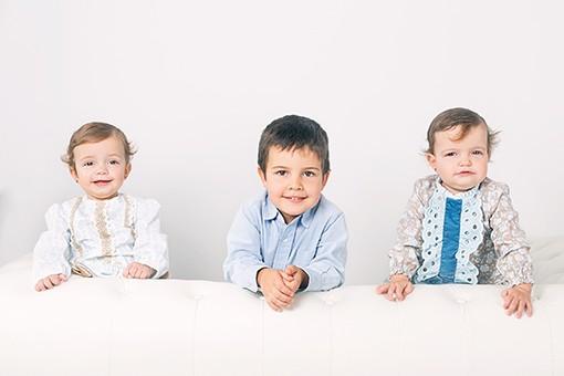 FOTÓGRAFO INFANTIL MADRID: Las hermanitas de Gonzalo