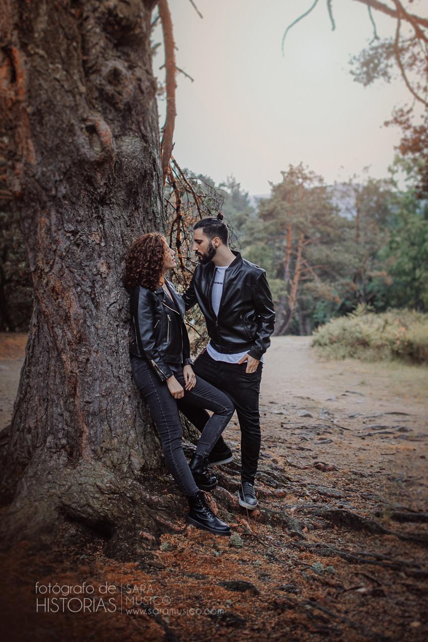 Sesion de fotos en pareja Madrid