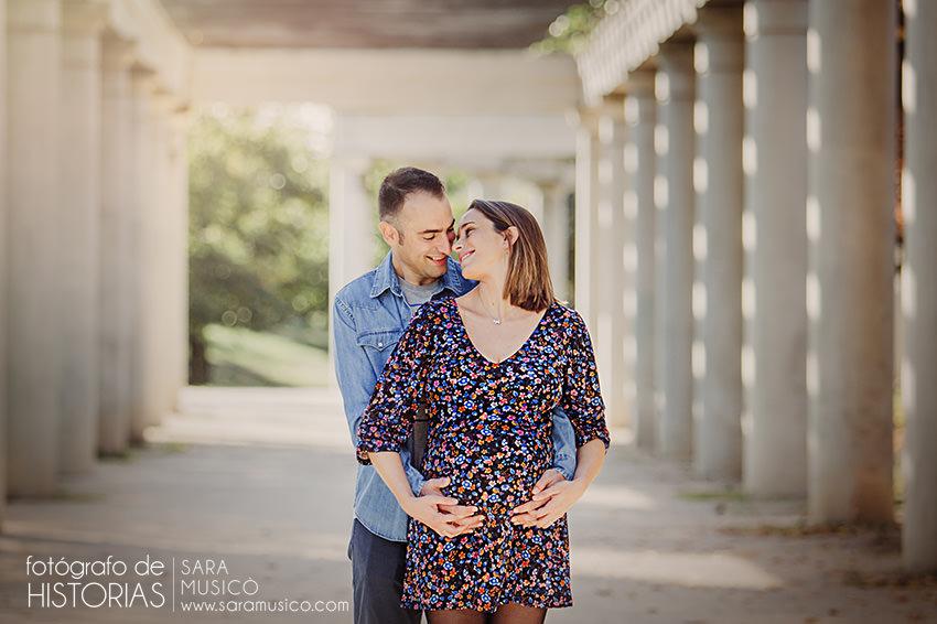 Fotos de embarazo exteriores